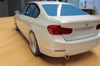 Fahrzeugmodell im Maßstab