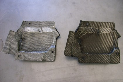 Fensterheberdeckel aus Kohlefaser